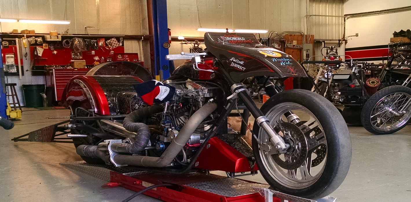 Houston'sCustom Motorcycle Repair, Metal Fabrication, and Race Application Shop